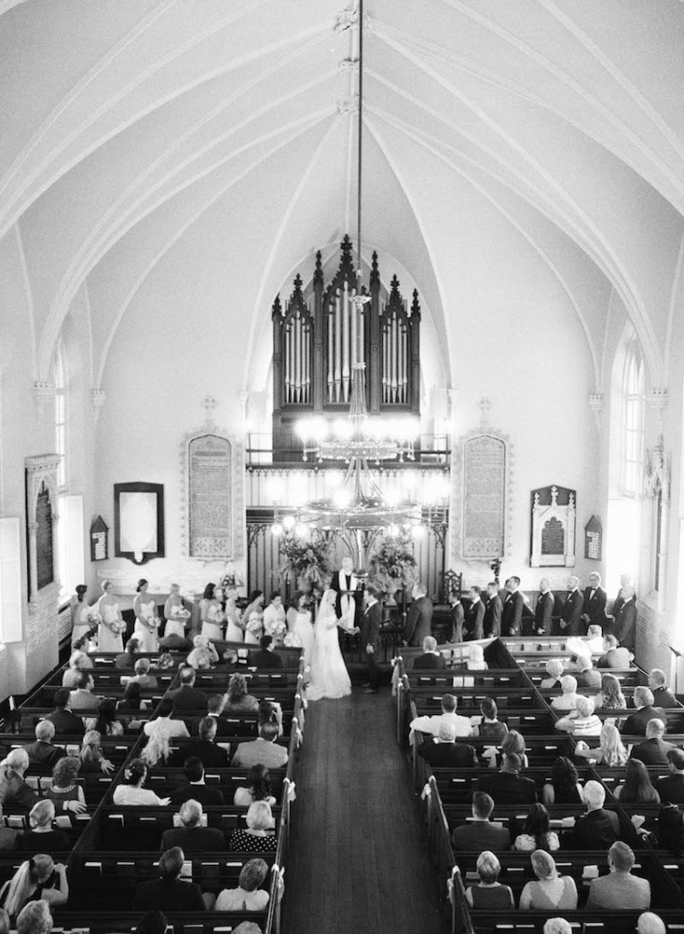 Photograph by Elizabeth Messina at the French Huguenot Church of Charleston.