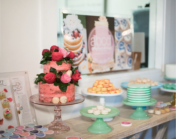 Ooh! What a Pop-Up Party: ABCD Designs' confections. Photographed at Ooh! Events Design Center by Marni Rothschild Pictures