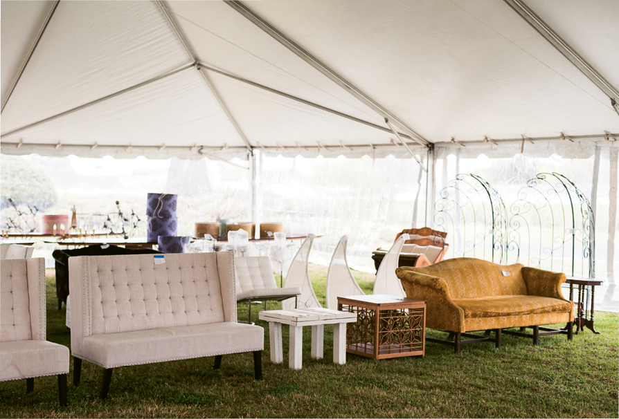 Bridal Revival: Charleston's top event pros consigned inventory in this dream sale. Photograph by Minette Hand