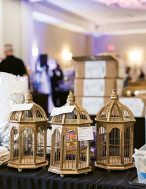 Bridal Revival: The  Bridal Revival mega sale had wedding décor and furniture from Ooh! Events, EventHaus, LulaKate, Gathering Events, and more. Photograph by Minette Hand