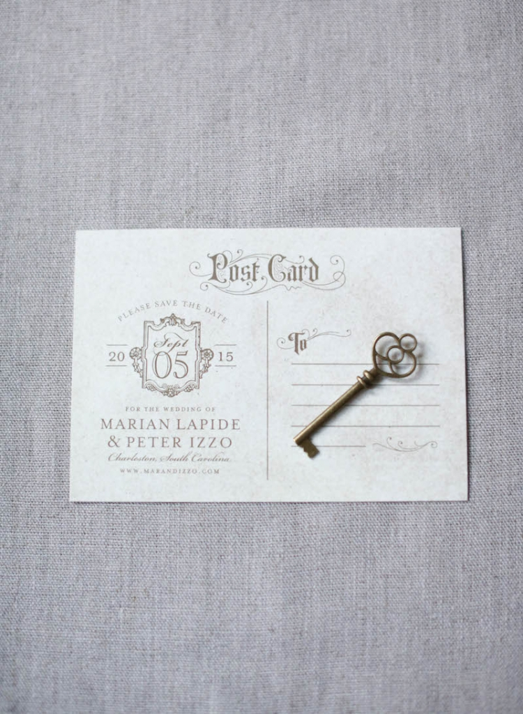 Stationery by Lettered Olive. Photograph by Elizabeth Messina.