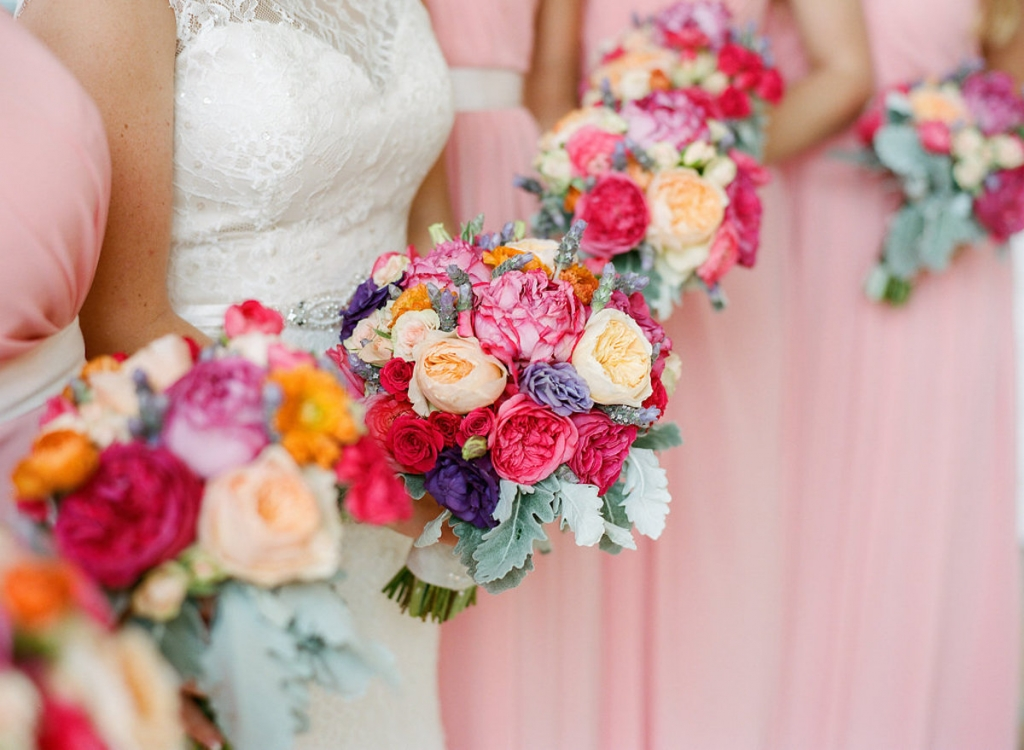Florals by Engaging Events. Photograph by Marni Rothschild Pictures.