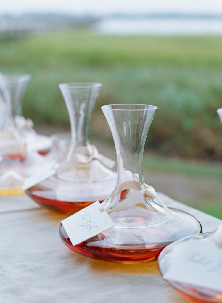 Bar service by Patrick Properties Hospitality Group. Photograph by Elizabeth Messina at Lowndes Grove Plantation.