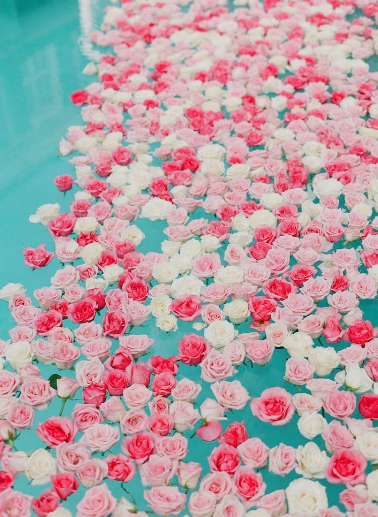 Florals by Gathering Floral + Event Design. Wedding design by Kristin Newman Designs. Photograph by Corbin Gurkin.