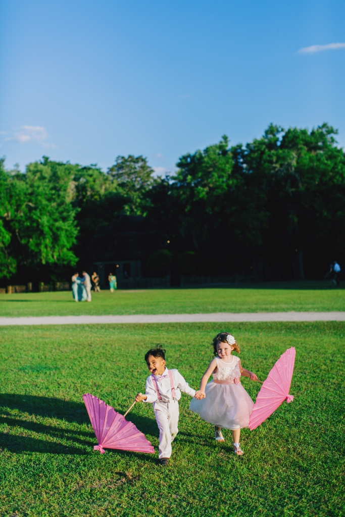 The vast grounds at Middleton Place gave tots plenty of space to frolic. <i>Photograph by Hyer Images</i>