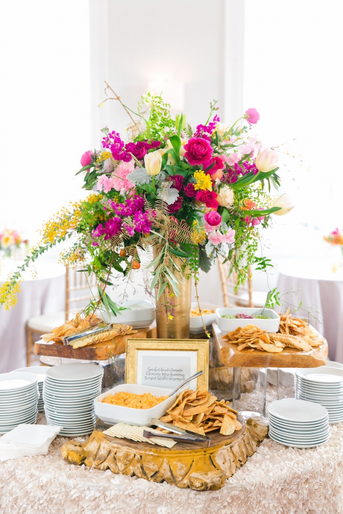 Catering by Mosaic Catering + Events. Photograph by Dana Cubbage Weddings at the Gadsden House.