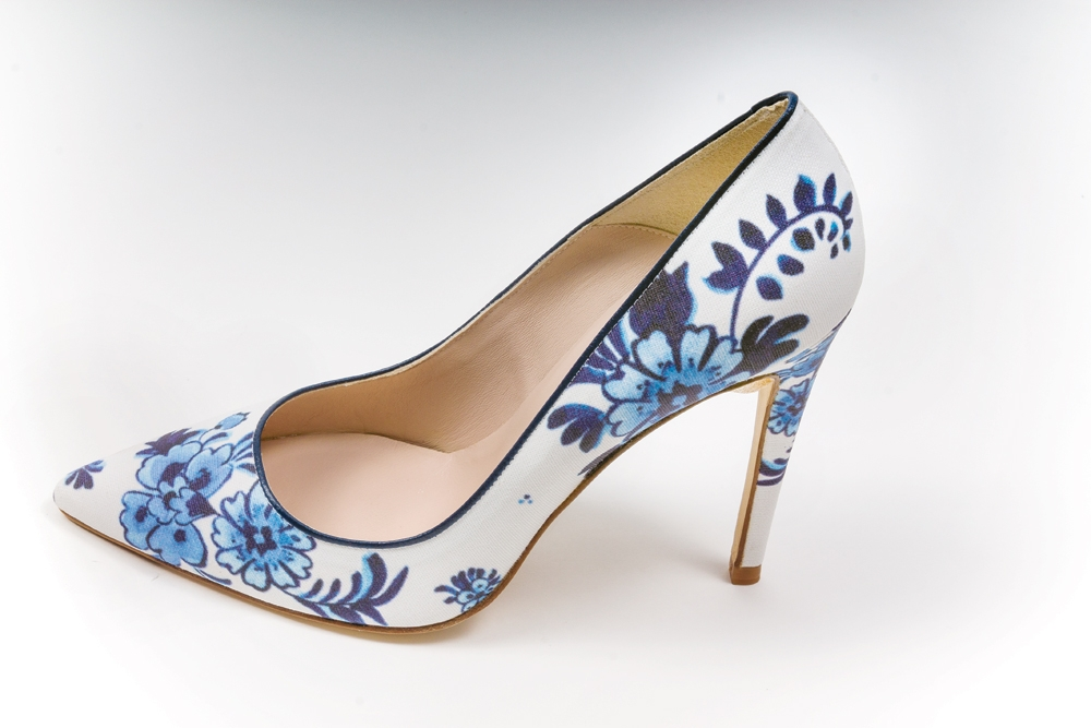 I first bought these L.K. Bennett pumps but ended up in sandals that better suited the surprise gown (pre-hemmed as it was pre-owned) my mom gifted me. Even so, they informed a lot of the wedding...and I haven't been able to part with them yet!