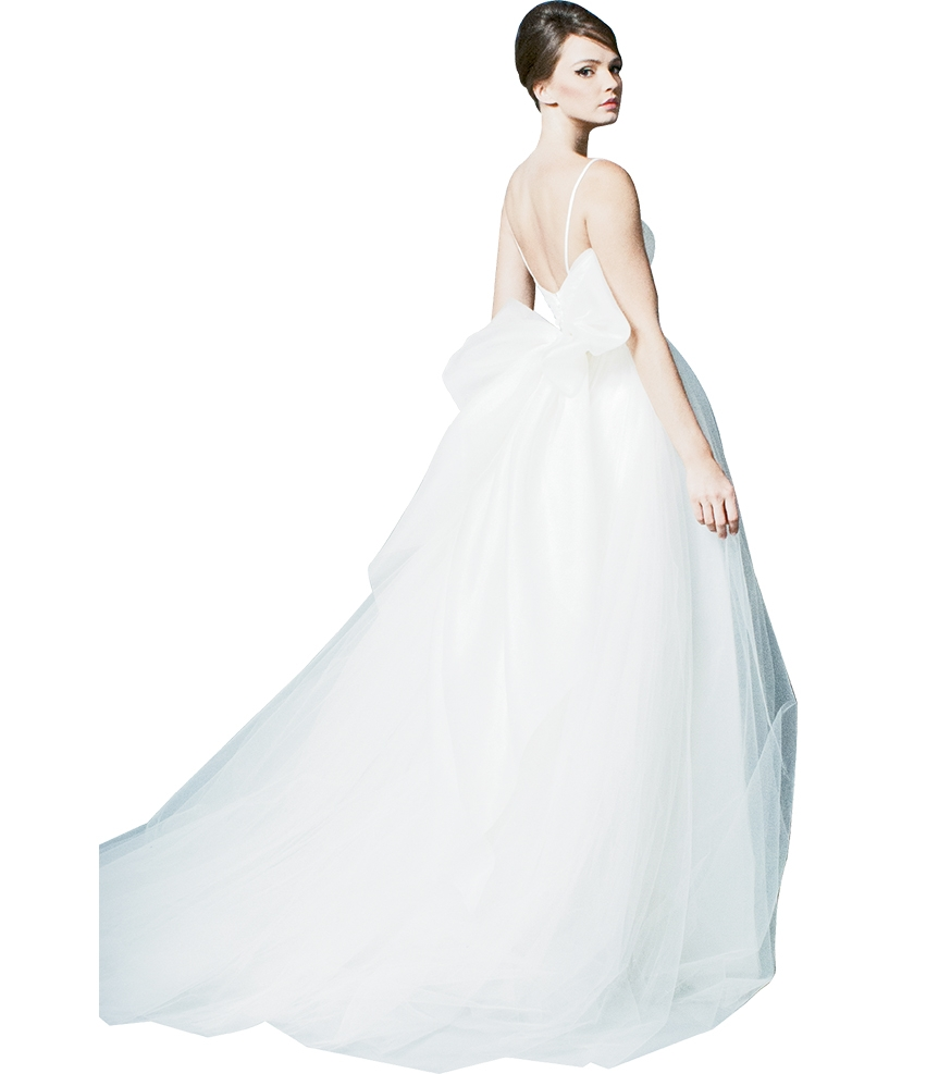"""Big, Beautiful Bows - Gown: """"Be Flirty"""" by Romona New York Boutique: Available locally through Southern Protocol Bridal"""