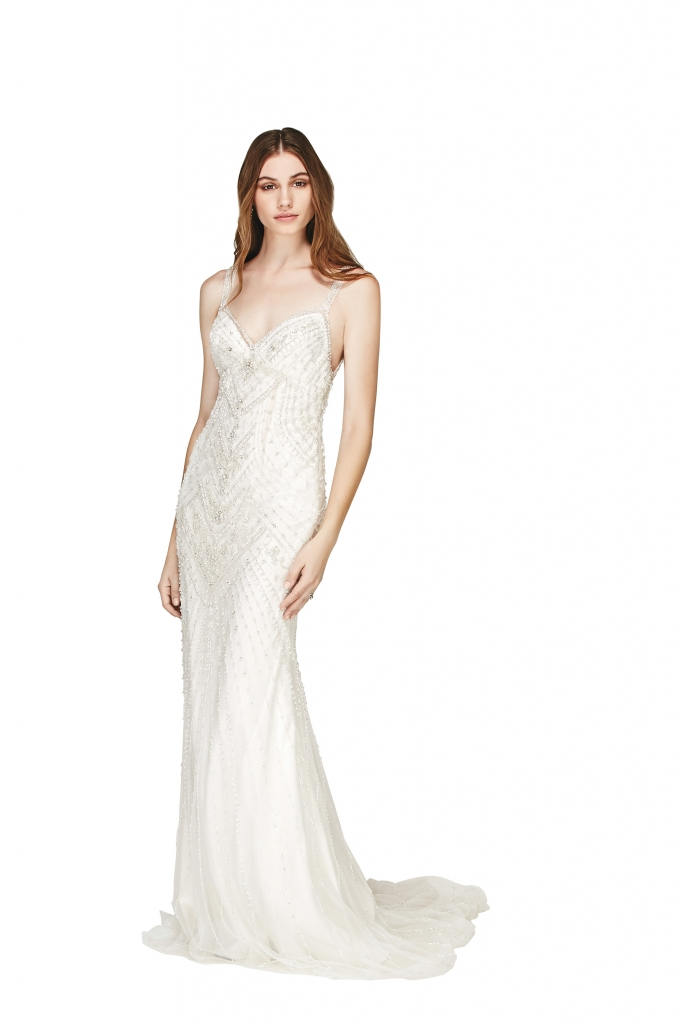"""{Timeless Trend} Beaded Sheath; gown: """"Cristales"""" by  Willowby by Watters; Bridals by Jodi,  Fabulous Frocks, Jean's Bridal"""