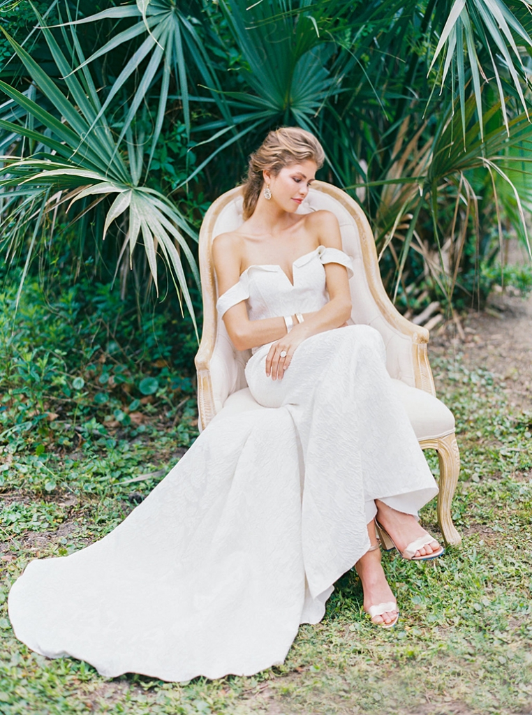 """Rebecca Shoneveld's """"Devon"""" from Southern Protocol Bridal. Photograph by Perry Vaile"""
