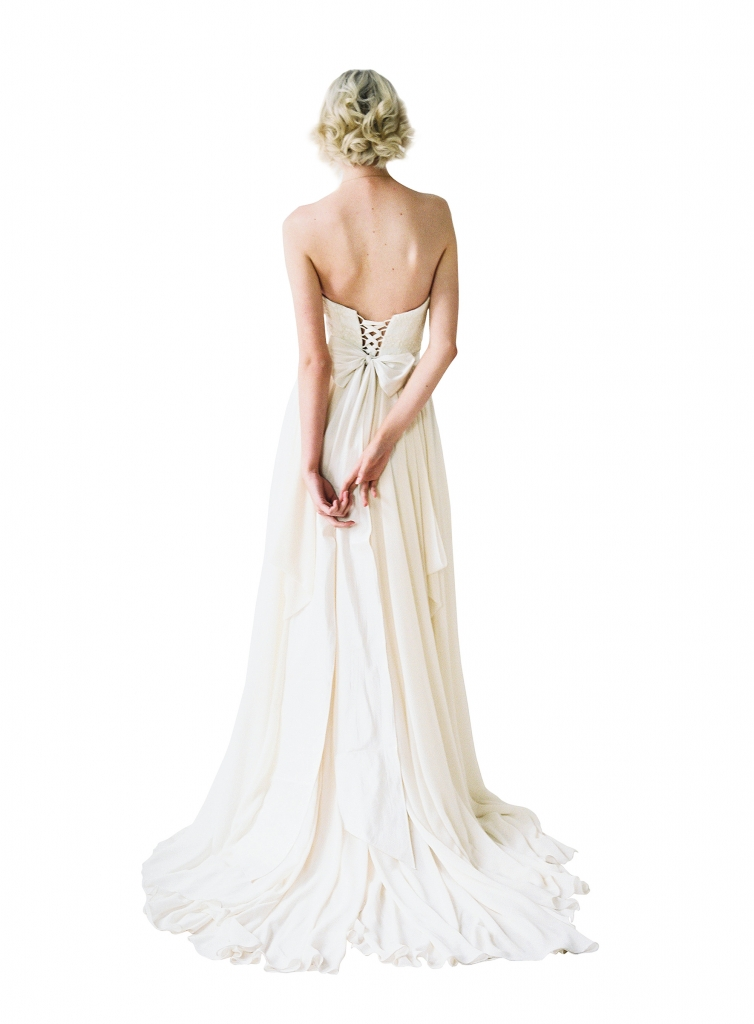 """{Timeless Trend}  Laced Up Corset; gown: """"Natalie"""" by Truvelle; The Bridal House of Charleston"""