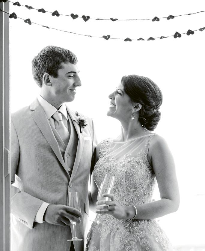 Dela Breyne and Joe O'Callaghan.   <i>Image Carolina Photosmith</i>