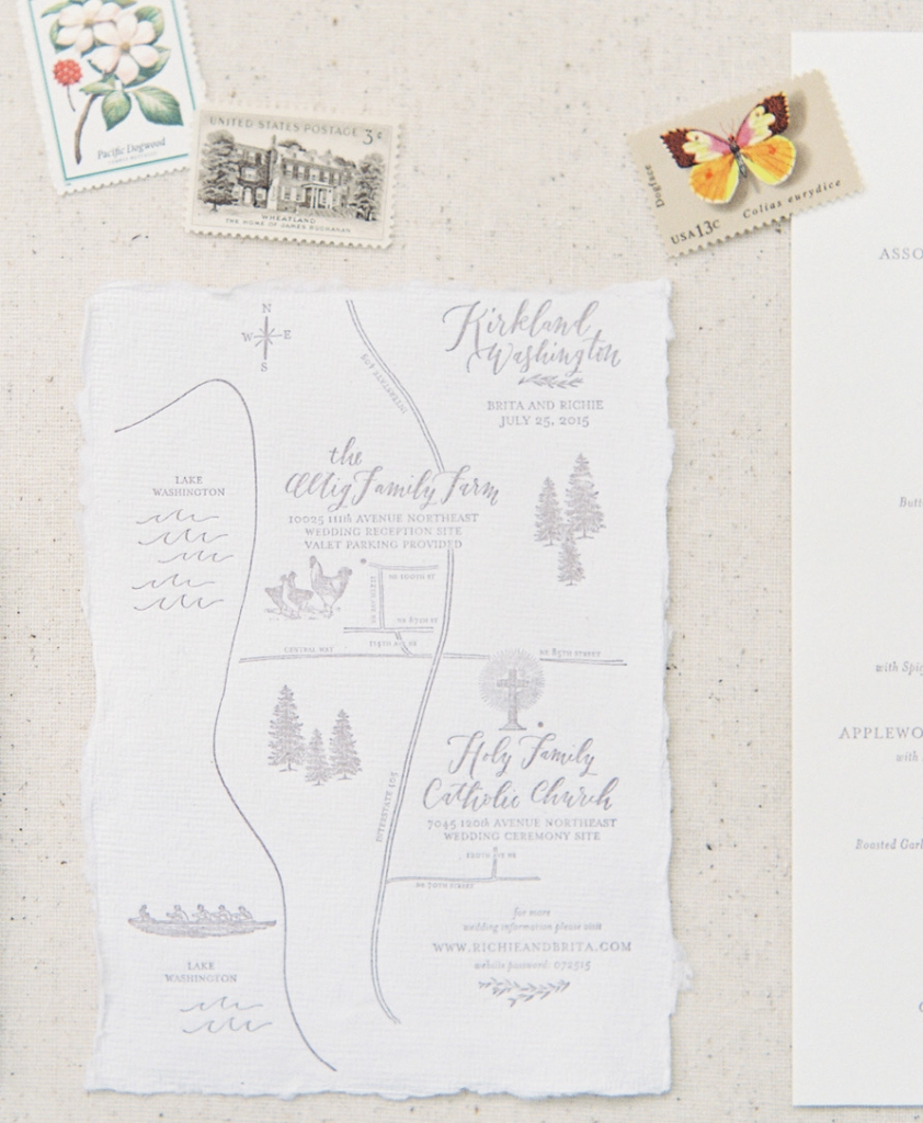 Trend: Illustrated Maps //  Map: La Happy //  Image: O'Malley Photographers