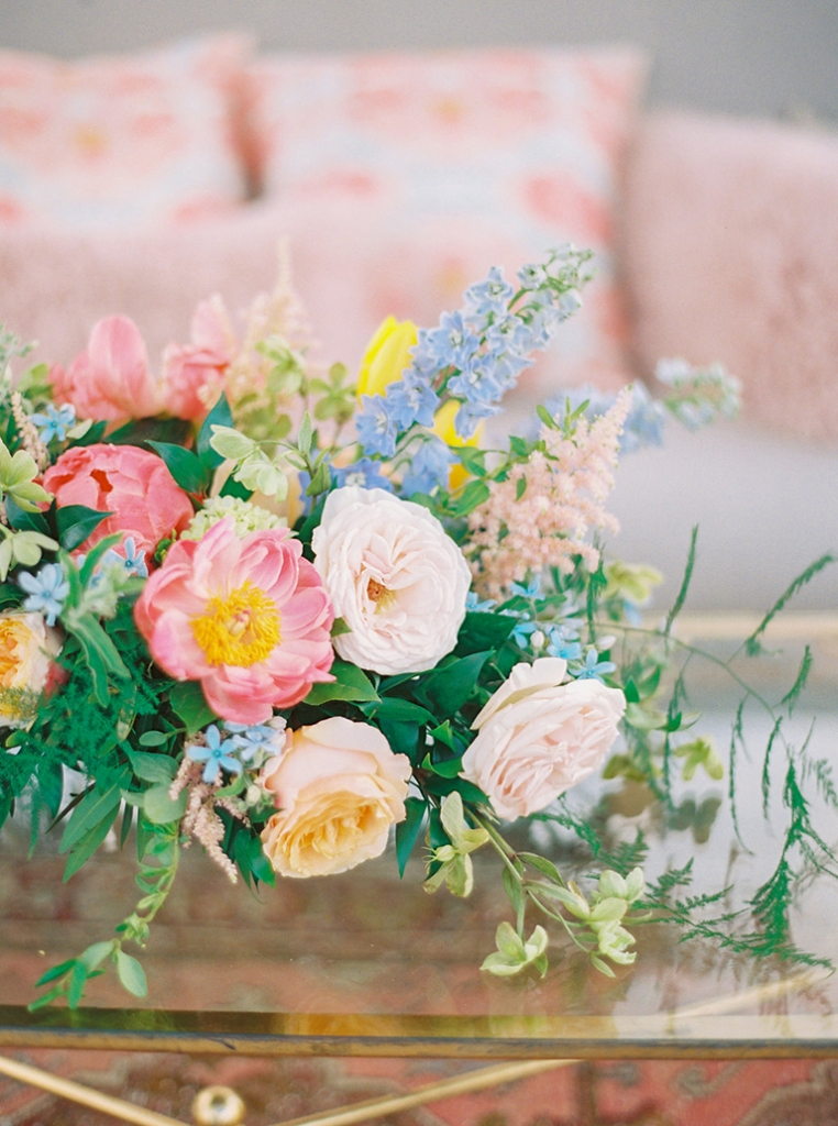 Florals from Out of the Garden. Photograph by Perry Vaile